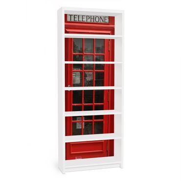 Carta adesiva per mobili IKEA - Billy Libreria - Telephone