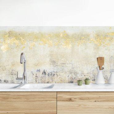 Rivestimento cucina - Golden Color Fields I