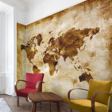 Carta da parati - No.CG75 Mappa del mondo