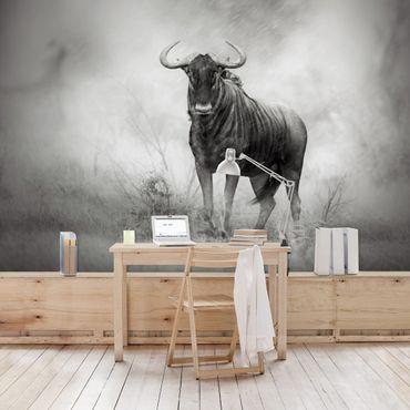 Carta da parati - Staring Wildebeest