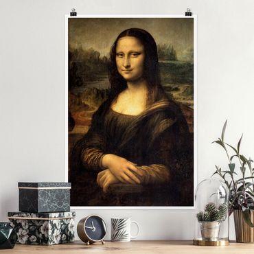 Poster - Leonardo Da Vinci - Monna Lisa - Verticale 3:2