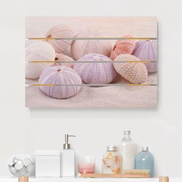 Stampa su legno - Urchin In Pastel - Orizzontale 2:3