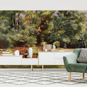 Carta da parati adesiva - Max Liebermann - Fiore Terrazza Wannseegarten
