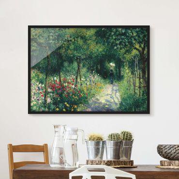 Poster con cornice - Auguste Renoir - Women In The Garden - Orizzontale 3:4