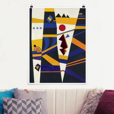 Poster - Wassily Kandinsky - James Bond - Verticale 4:3