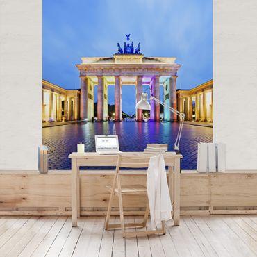 Carta da parati - Illuminated Brandenburg Gate