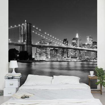Carta da parati - Nighttime Manhattan Bridge II