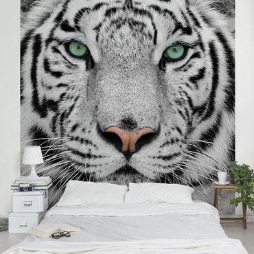 Carta da parati - White Tiger