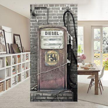 Tenda a pannello Gas Station 250x120cm