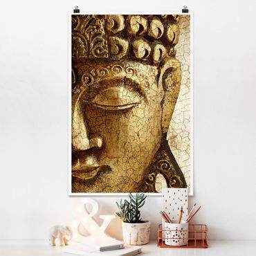 Poster - Vintage Buddha - Verticale 3:2