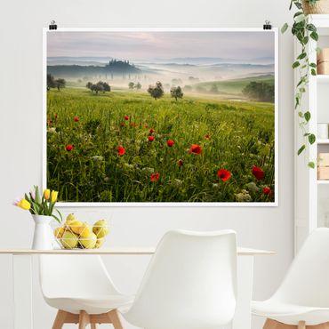 Poster - Toscana Primavera - Orizzontale 3:4