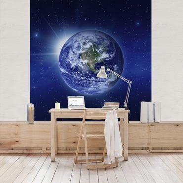 Carta da parati - Earth In The Space