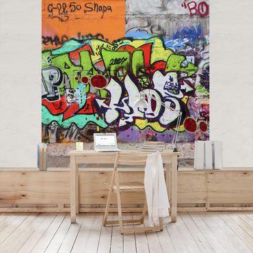 Carta da parati - Graffiti