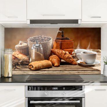 Paraschizzi in vetro - Breakfast Table