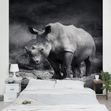Carta da parati - Lonesome Rhinoceros