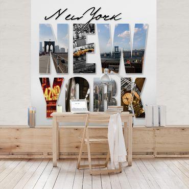 Carta da parati - New York Impressions