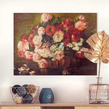 Quadri su tela - Auguste Renoir - Natura morta con peonie