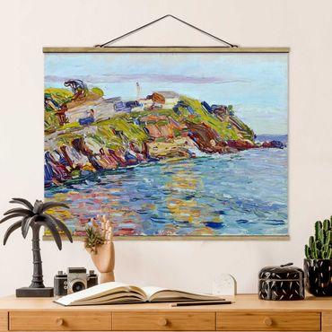 Foto su tessuto da parete con bastone - Wassily Kandinsky - Bay Rapallo - Orizzontale 3:4