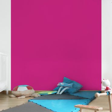 Carta da parati - Colour Pink - Tinta unita