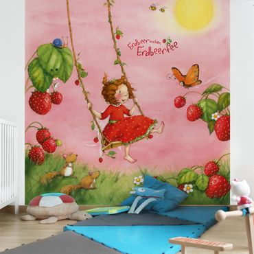 Carta da parati - The Strawberry Fairy - Tree Swing