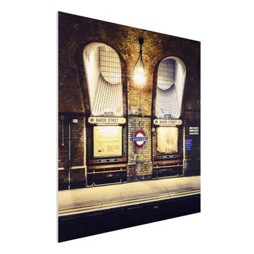 Quadro in forex - Baker Street - Quadrato 1:1