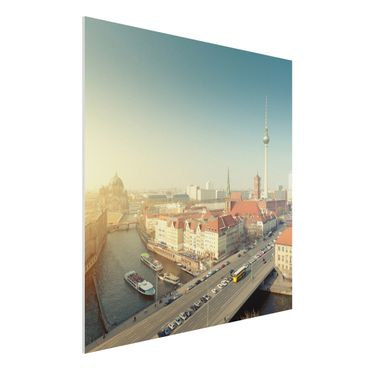 Quadro in forex - Berlin morning - Quadrato 1:1