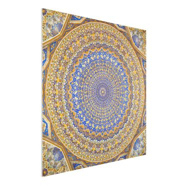 Quadro in forex - Dome of the Mosque - Quadrato 1:1