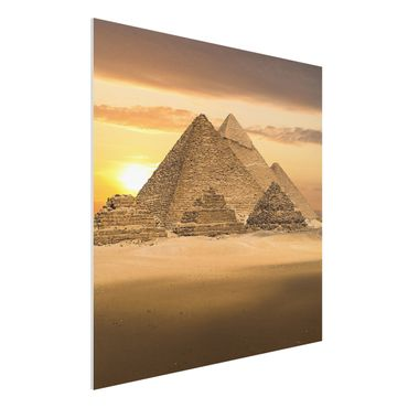 Quadro in forex - Dream of Egypt - Quadrato 1:1
