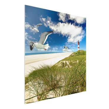 Quadro in forex - Dune Breeze - Quadrato 1:1