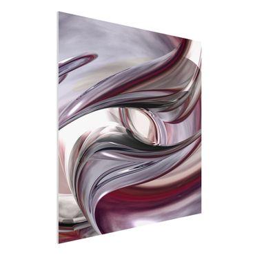 Quadro in forex - Illusionary - Quadrato 1:1