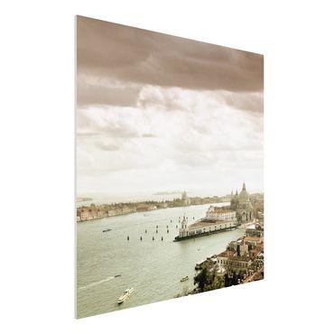 Quadro in forex - Venetian Lagoon - Quadrato 1:1