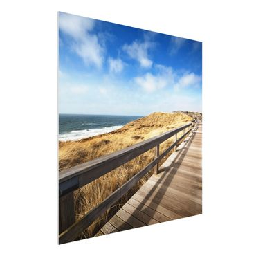 Quadro in forex - North Sea Promenade - Quadrato 1:1