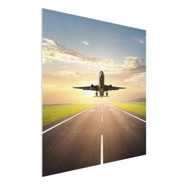 Quadro in forex - Starting Airplane - Quadrato 1:1