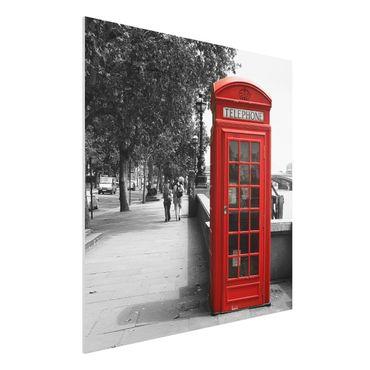 Quadro in forex - Telephone - Quadrato 1:1