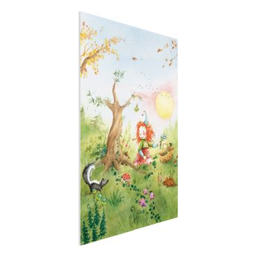 Quadro in forex - Frida collected herbs - Verticale 2:3