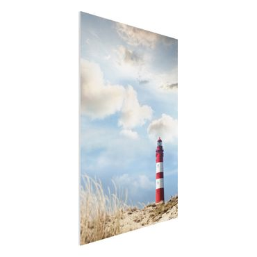 Quadro in forex - Lighthouse in the dunes - Verticale 2:3