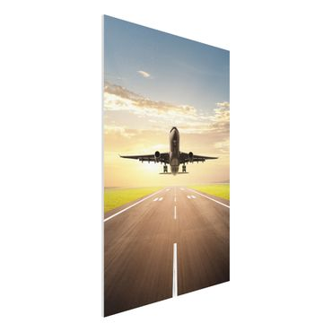 Quadro in forex - Starting Airplane - Verticale 2:3