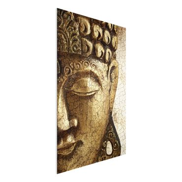 Quadro in forex - Vintage Buddha - Verticale 2:3