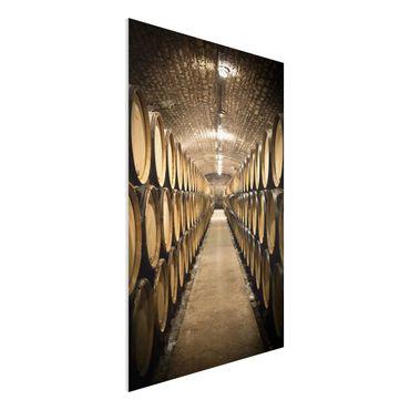Quadro in forex - Wine cellar - Verticale 2:3