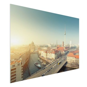 Quadro in forex - Berlin morning - Orizzontale 3:2