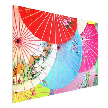 Quadro in forex - Chinese Parasols - Orizzontale 3:2