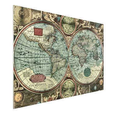 Quadro in forex - The Old World - Orizzontale 3:2