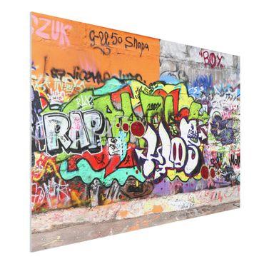 Quadro in forex - Graffiti - Orizzontale 3:2
