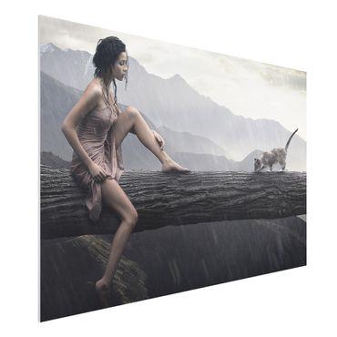Quadro in forex - Jane in the Rain - Orizzontale 3:2