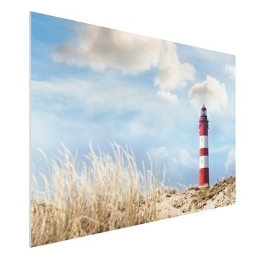 Quadro in forex - Lighthouse in the dunes - Orizzontale 3:2