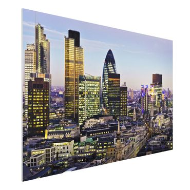 Quadro in forex - London City - Orizzontale 3:2