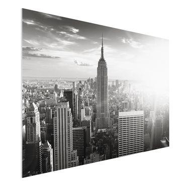 Quadro in forex - Manhattan Skyline - Orizzontale 3:2