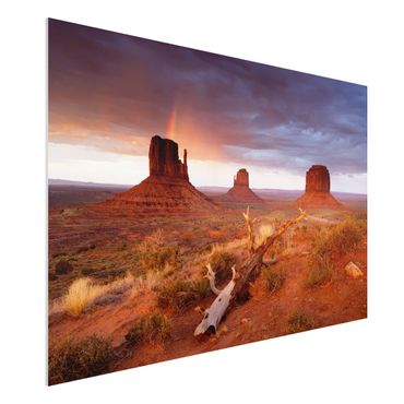 Quadro in forex - Monument Valley at sunset - Orizzontale 3:2