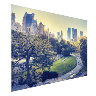 Quadro in forex - Peaceful Central Park - Orizzontale 3:2