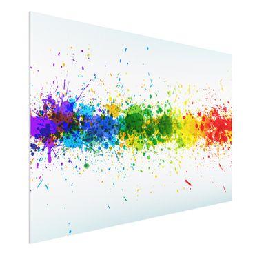 Quadro in forex - Rainbow Splatter - Orizzontale 3:2